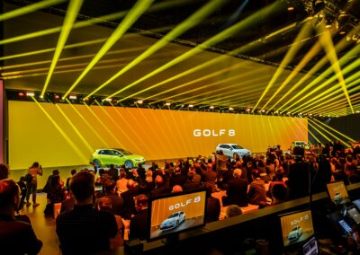 Weltpremiere des VW Golf 8