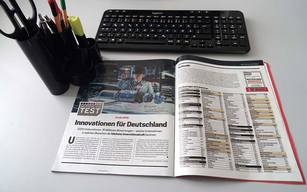 Innovationspreis-Siegel: macomGROUP zum dritten Mal in Folge ausgezeichnet